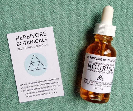 Herbivore Botanicals Facial Serum