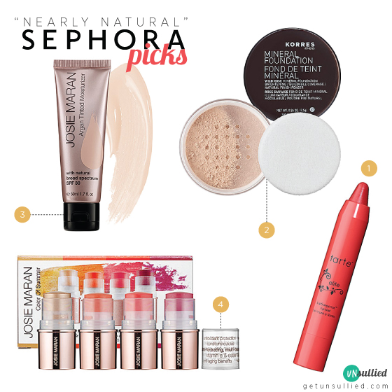 Nearly Natural Sephora Picks
