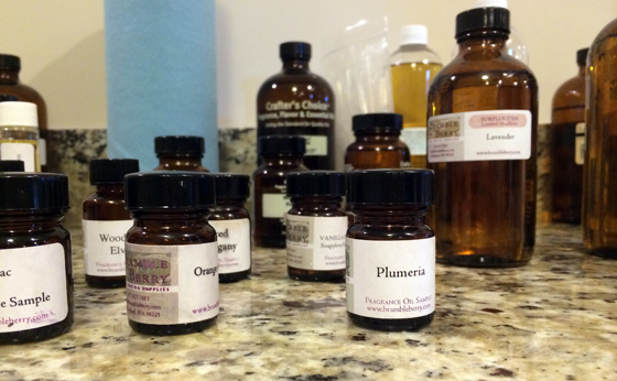Soap making oils