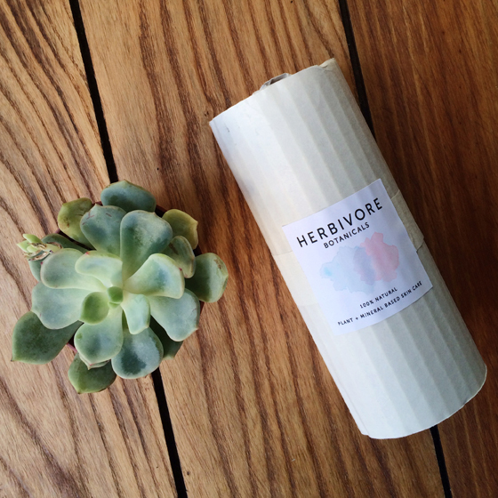 Herbivore Botanicals wrapping