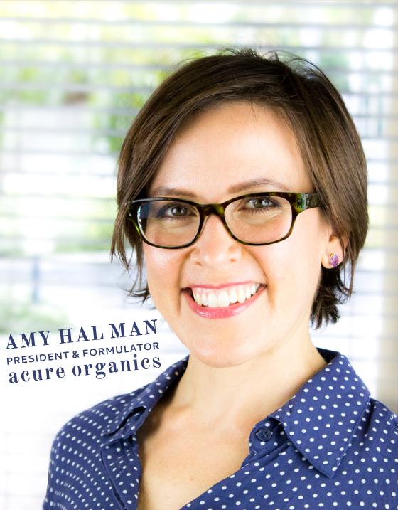 Amy Halman Acure Organics
