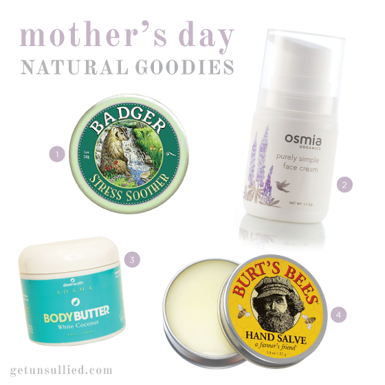 Healthy, natural gifts for Mother's Day