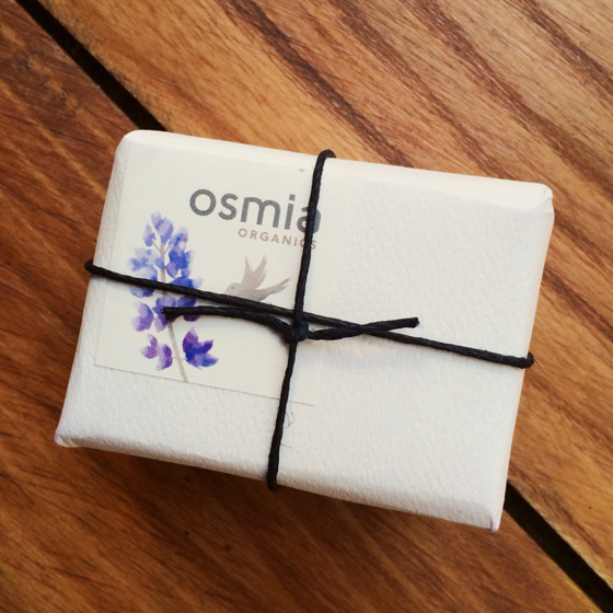 Osmia Bar Soap Wrapped