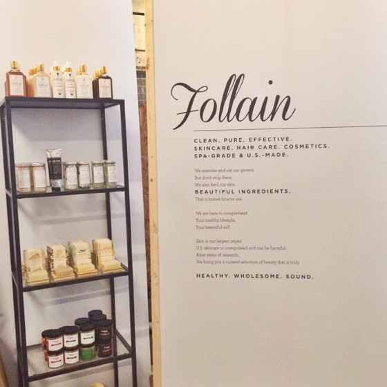 Follain-popup